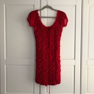 Majorelle red dress from revolve
